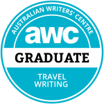 Australian Writers Centre travel writing graduate