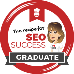 Recipe for SEO Success Graduate
